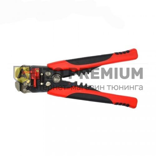 Клещи зачистные универсальные для проводов и обжима контактов L=210 мм.